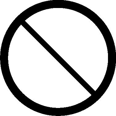 Ban free icon
