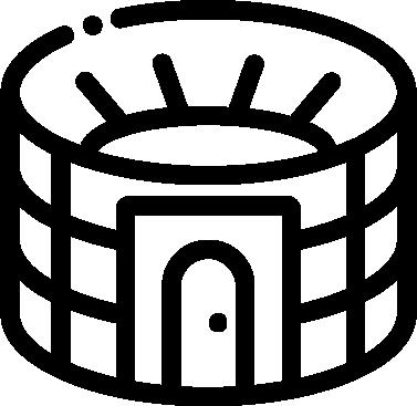 Stadium free icon