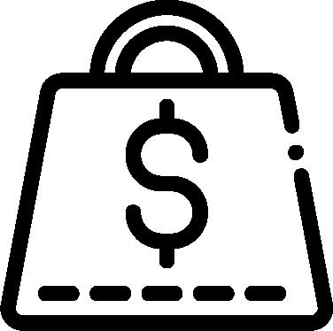 Debt free icon