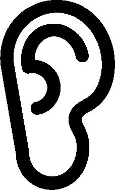 Ear free icon