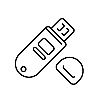 Flash Drive free icon