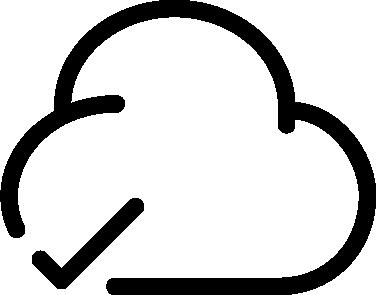 Cloud Check icon