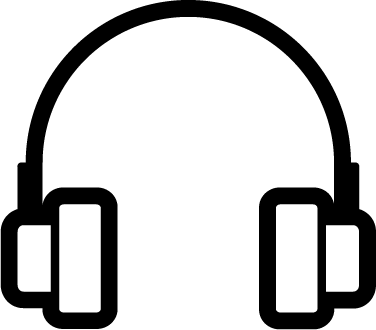 Headphones free icon