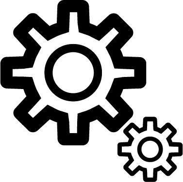 Cogwheels icon