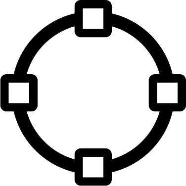 Vector Path Circle free icon