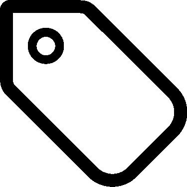 Tag free icon