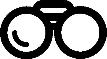 Binoculars free icon