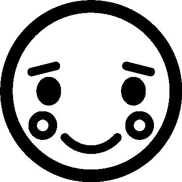 Shy free icon