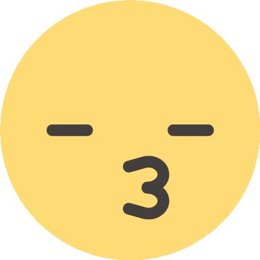 Kiss free icon