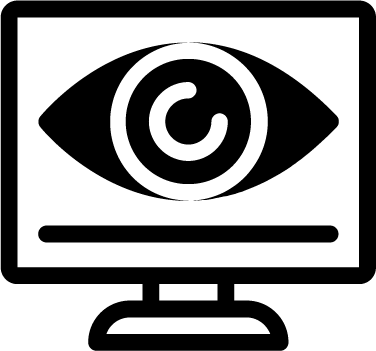 Monitoring free icon