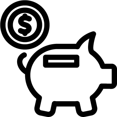 Piggy Bank free icon