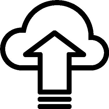 Upload free icon
