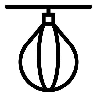 punching ball icon