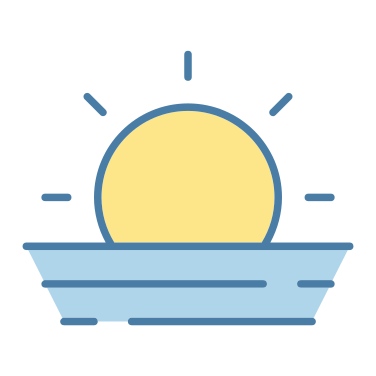 sunset free icon