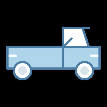 pickup truck free icon