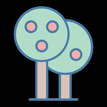 tree fruit icon