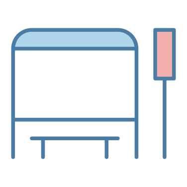 bus stop icon
