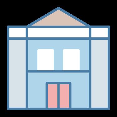city hall free icon