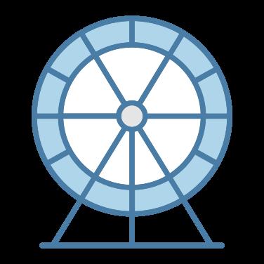 ferris wheel free icon