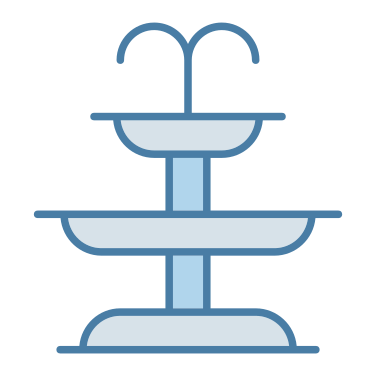 fountain free icon