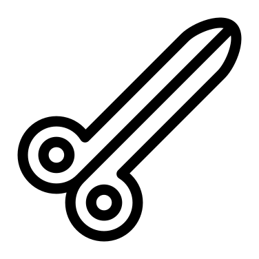 Scissors free icon