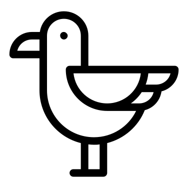 Seagull free icon