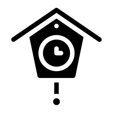 Cuckoo Clock free icon
