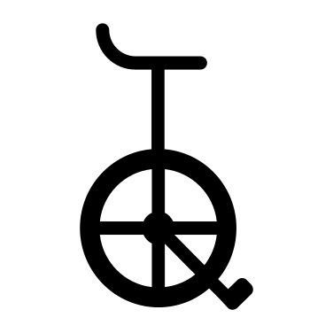Unicycle free icon