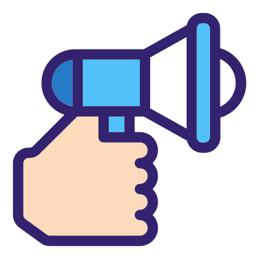 Marketing free icon