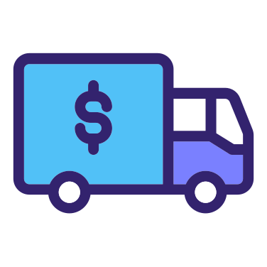 Delivery Truck free icon