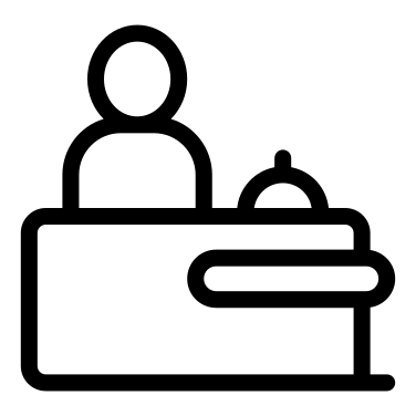 Receptionist free icon