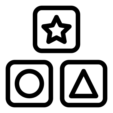 Cubes free icon